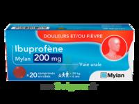IBUPROFENE MYLAN 200 mg, comprimé enrobé à QUINCAMPOIX