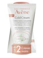 Avène Eau Thermale Cold Cream Duo Crème Mains 2x50ml à QUINCAMPOIX
