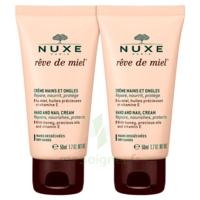 Rêve De Miel® Crème Mains Et Ongles 2*50ml à QUINCAMPOIX