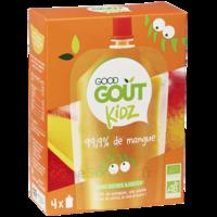 Good Goût Alimentation infantile mangue 4 Gourdes/90g à QUINCAMPOIX