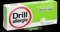 Drill 10 Mg Comprimés à Sucer Allergie Cétirizine Plq/7 à QUINCAMPOIX