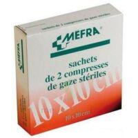MEFRA, 10 cm x 10 cm, sachet de 2, 50 sachets, boîte 100 à QUINCAMPOIX