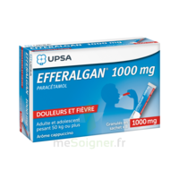 Efferalgan 1g Cappuccino Granules 8 Sachets à QUINCAMPOIX