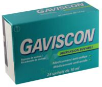 GAVISCON, suspension buvable en sachet à QUINCAMPOIX