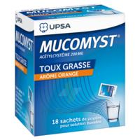 MUCOMYST 200 mg Poudre pour solution buvable en sachet B/18 à QUINCAMPOIX