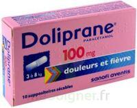 DOLIPRANE 100 mg Suppositoires sécables 2Plq/5 (10) à QUINCAMPOIX