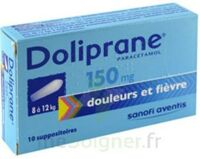 DOLIPRANE 150 mg Suppositoires 2Plq/5 (10) à QUINCAMPOIX