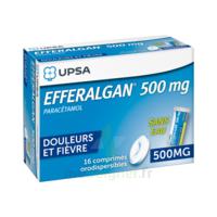 EFFERALGAN 500 mg, comprimé orodispersible à QUINCAMPOIX