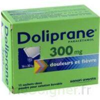 DOLIPRANE 300 mg Poudre pour solution buvable en sachet-dose B/12 à QUINCAMPOIX