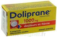 DOLIPRANE 1000 mg Comprimés effervescents sécables T/8 à QUINCAMPOIX