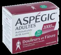 ASPEGIC ADULTES 1000 mg, poudre pour solution buvable en sachet-dose 30 à QUINCAMPOIX