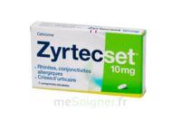 ZYRTECSET 10 mg, comprimé pelliculé sécable à QUINCAMPOIX