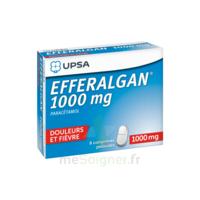 Efferalgan 1000 mg Comprimés pelliculés Plq/8
