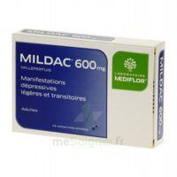 MILDAC 600 mg, comprimé enrobé à QUINCAMPOIX