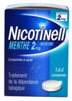 Nicotinell Menthe 2 Mg, Comprimé à Sucer Plaq/144