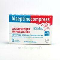 BISEPTINECOMPRESS COMPRESSSES IMPREGNEES, bt 8 à QUINCAMPOIX