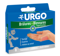 URGO BRULURES-BLESSURES PETIT FORMAT x 6 à QUINCAMPOIX
