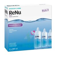 RENU MPS, fl 360 ml, pack 3 à QUINCAMPOIX