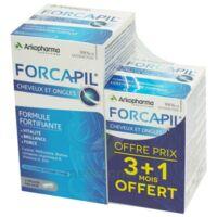 Forcapil Gélules croissance vitalité cheveux ongles B/180+60 à QUINCAMPOIX