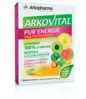Arkovital Pur'energie Multivitamines Comprimés Dès 6 Ans B/30 à QUINCAMPOIX
