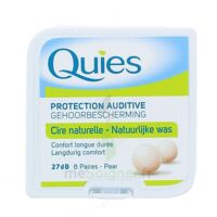 QUIES PROTECTION AUDITIVE CIRE NATURELLE 8 PAIRES à QUINCAMPOIX