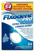 Fixodent Pro Comprimés Nettoyant Fraîcheur Longue Durée Pour Prothèse Dentaire B/54 à QUINCAMPOIX