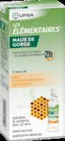 LES ELEMENTAIRES Solution buccale maux de gorge adulte 30ml à QUINCAMPOIX