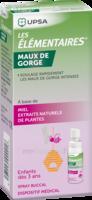 LES ELEMENTAIRES Spray buccal maux de gorge enfant Fl/20ml à QUINCAMPOIX