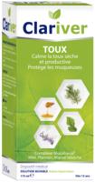 Clariver Solution Buvable Toux Sèche Et Productive Adulte Fl/175ml à QUINCAMPOIX