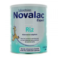 NOVALAC EXPERT RIZ Lait en poudre 0-36mois B/800g à QUINCAMPOIX