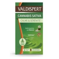 Valdispert Cannabis Sativa Caps Liquide B/24 à QUINCAMPOIX