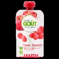 Good Goût Alimentation Infantile Pomme Framboise Gourde/120g à QUINCAMPOIX