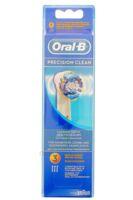 BROSSETTE DE RECHANGE ORAL-B PRECISION CLEAN x 3 à QUINCAMPOIX