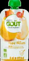 Good Goût Alimentation Infantile Poire Williams Gourde/120g à QUINCAMPOIX