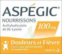 ASPEGIC NOURRISSONS 100 mg, poudre pour solution buvable en sachet-dose à QUINCAMPOIX