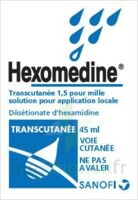HEXOMEDINE TRANSCUTANEE 1,5 POUR MILLE, solution pour application locale à QUINCAMPOIX