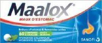 Maalox Hydroxyde D'aluminium/hydroxyde De Magnesium 400 Mg/400 Mg Cpr à Croquer Maux D'estomac Plq/60 à QUINCAMPOIX