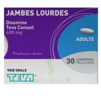 DIOSMINE TEVA CONSEIL 600 mg, comprimé pelliculé à QUINCAMPOIX