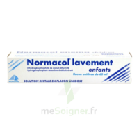 NORMACOL LAVEMENT ENFANTS, solution rectale, récipient unidose à QUINCAMPOIX
