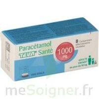 PARACETAMOL TEVA SANTE 1000 mg, comprimé effervescent sécable à QUINCAMPOIX