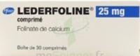 LEDERFOLINE 25 mg, comprimé à QUINCAMPOIX
