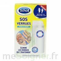 Scholl SOS Verrues traitement pieds et mains à QUINCAMPOIX