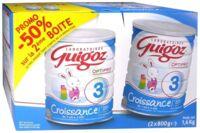 GUIGOZ LAIT CROISSANCE 3 2X800GR à QUINCAMPOIX