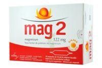 MAG 2 122 mg S buv en ampoule sans sucre édulcoré à la saccharine sodique 30Amp/10ml à QUINCAMPOIX