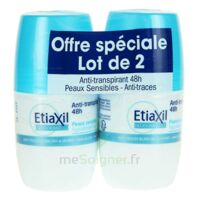 ETIAXIL DEO 48H ROLL-ON LOT 2 à QUINCAMPOIX