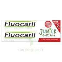 Fluocaril Junior Gel dentifrice Fruits rouges 6/12ans 2*75ml à QUINCAMPOIX