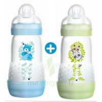 Mam Biberon Easy Start Anti-colique 260 Ml Lot De 2_ Bleu & Vert à QUINCAMPOIX