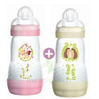 Mam Biberon Easy Start Anti-colique 260 Ml Lot De 2_ Rose & Beige à QUINCAMPOIX