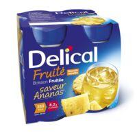 DELICAL BOISSON FRUITEE Nutriment ananas 4Bouteilles/200ml à QUINCAMPOIX