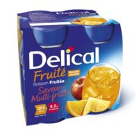 DELICAL BOISSON FRUITEE Nutriment multi fruits 4Bouteilles/200ml à QUINCAMPOIX